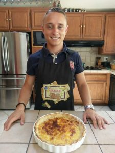 Kevin and the perfect Quiche